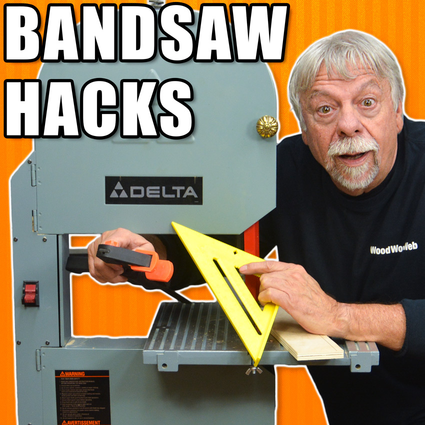 Band Saw Tips and Tricks