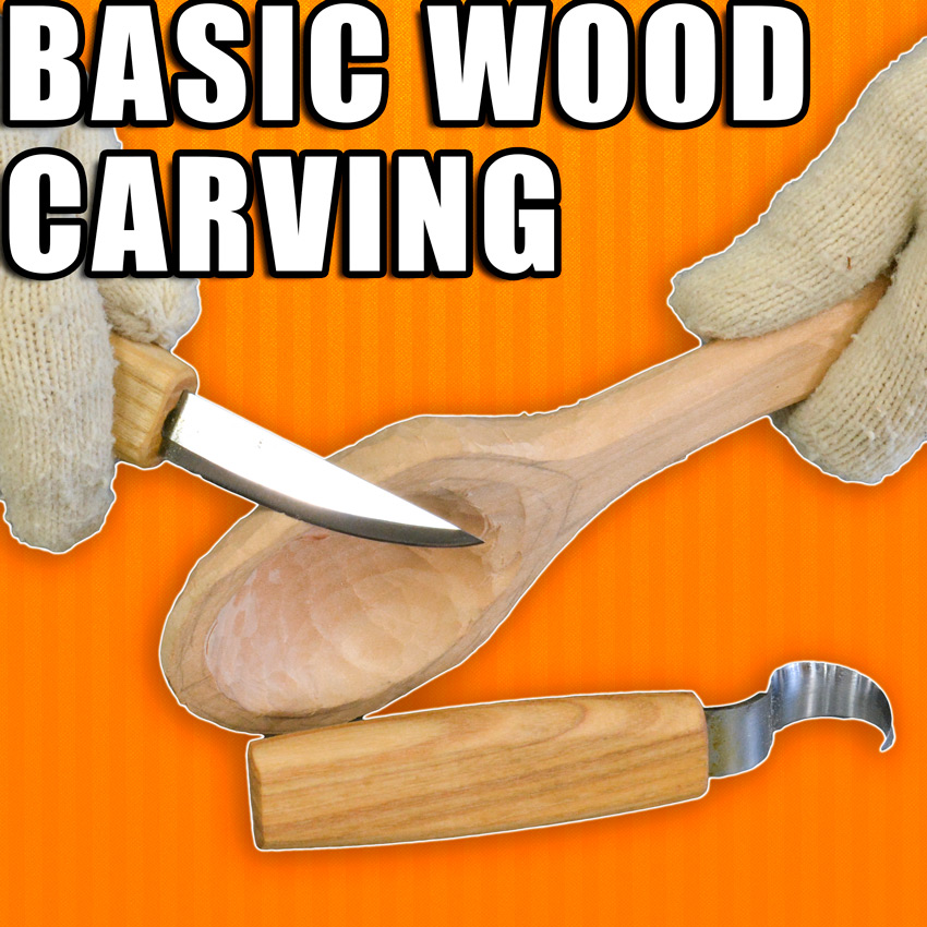 Wood Carving for Beginners / Basic Wood Carving Tutorial