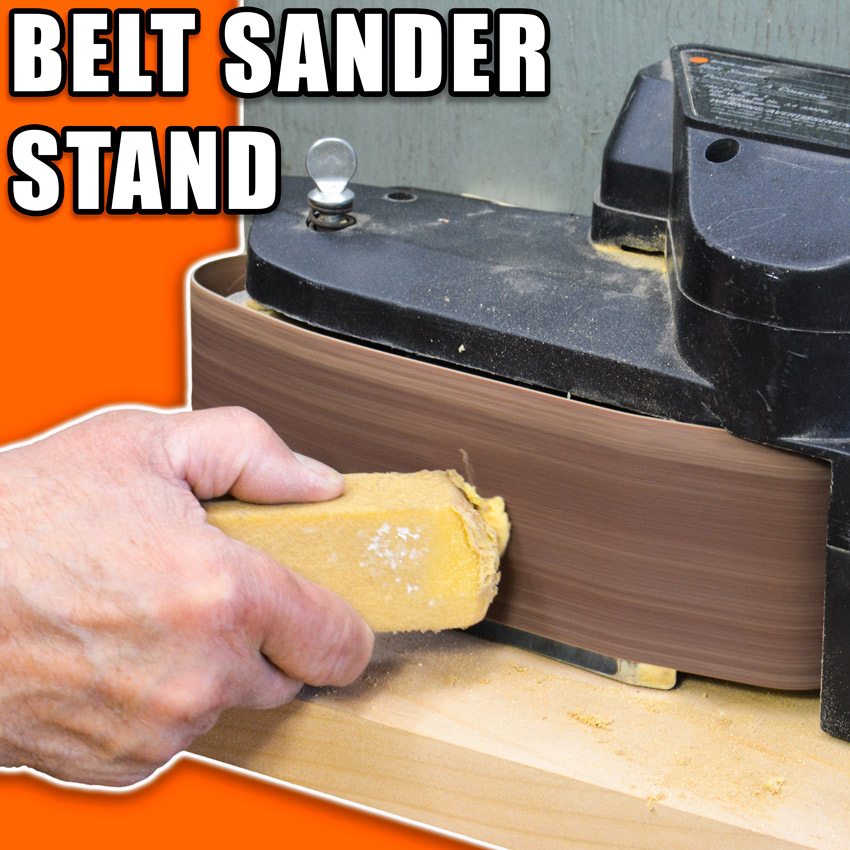 Convert your Belt Sander to a Bench Sander