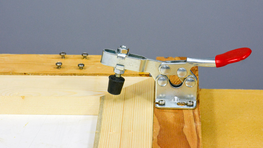 Toggle clamp jig