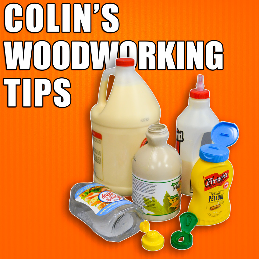 Colin's Workshop Woodworking Tips and Hacks