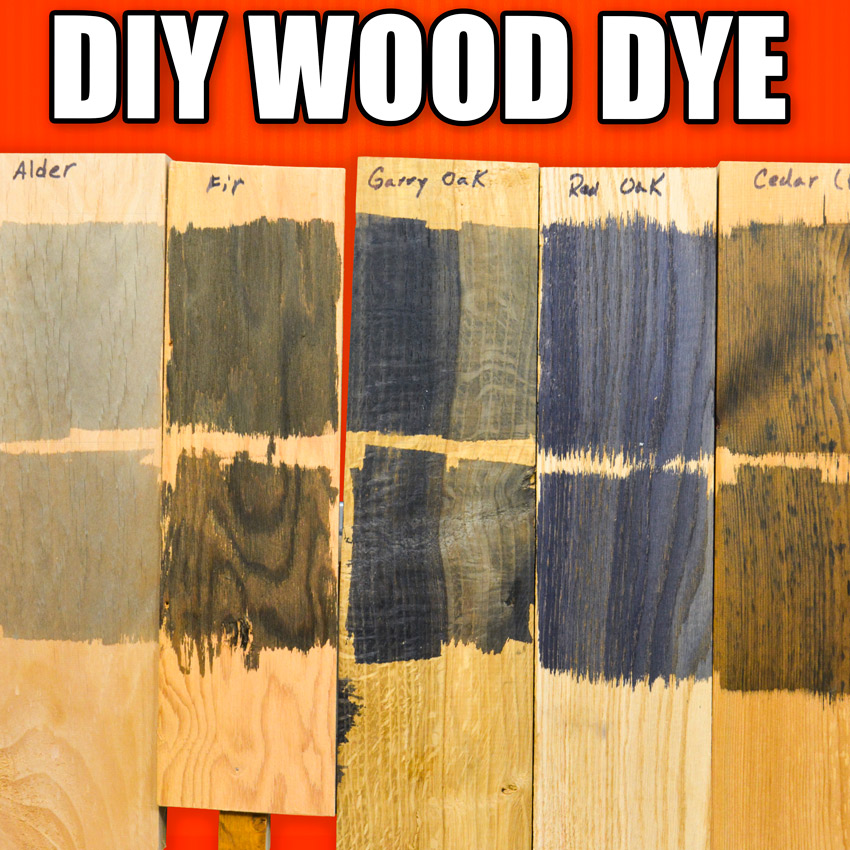 Dyeing Wood Technique