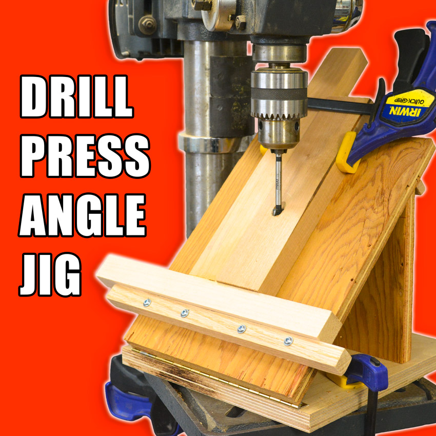 drill press angle jig