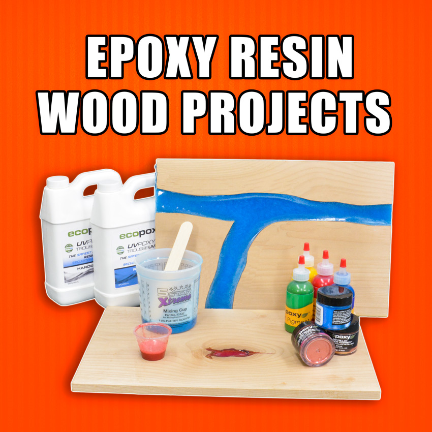 Epoxy Resin Wood Projects