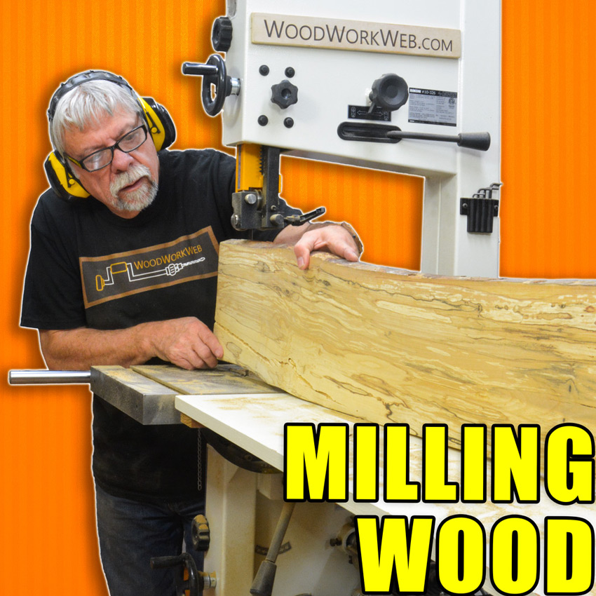 Milling Wood Using a Bandsaw