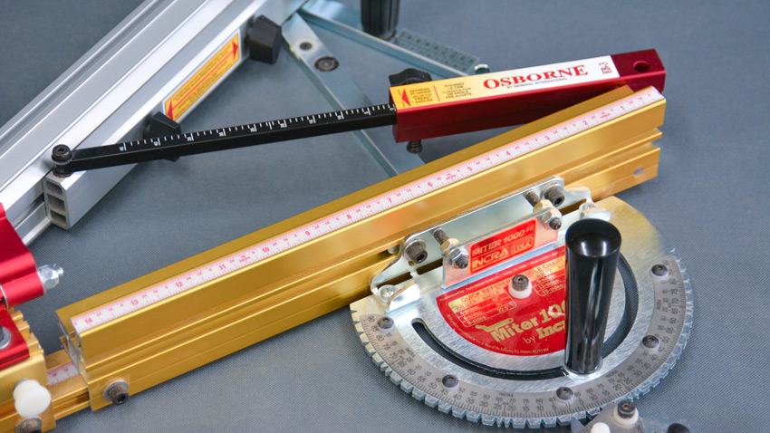 miter gauge angle settings