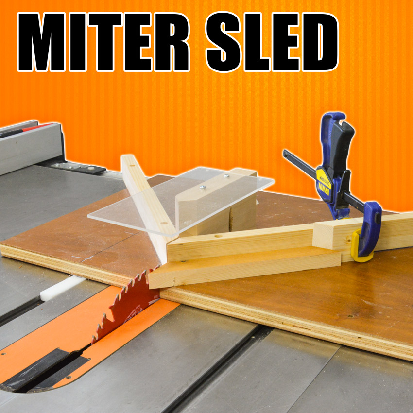 mitre sled for the table saw