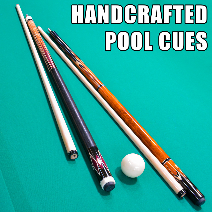 How Handcrafted Pool Cues are Made