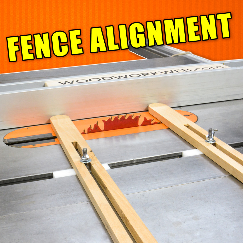 Table Saw Fence Alignment Jig