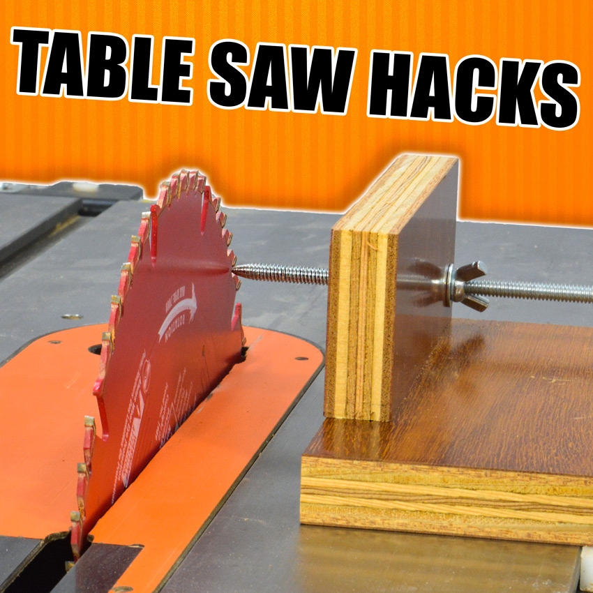 5 Quick Table Saw Tricks