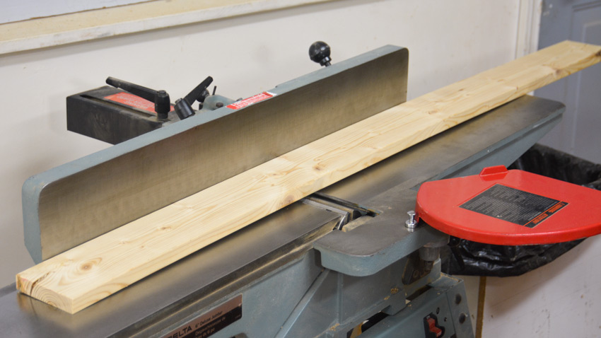Jointing Bowed Wood