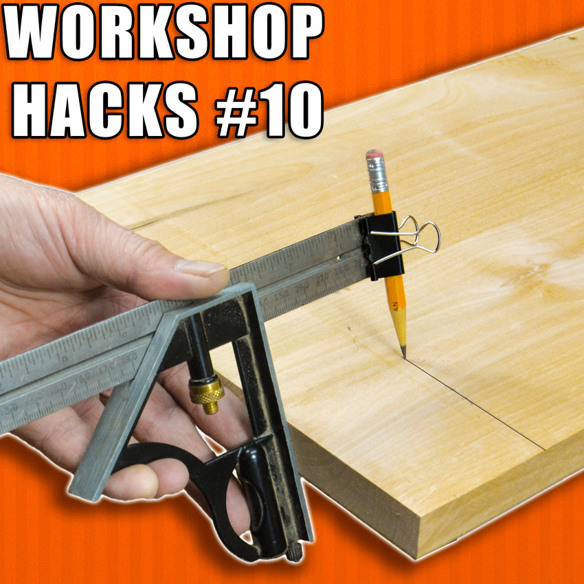 Woodworking Hacks combination square
