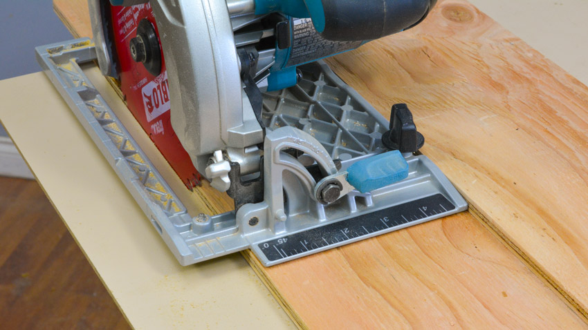 Plywood Break-Down Cross Cut Jig