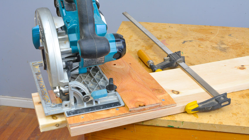 Cross Cut Circ Saw Jig