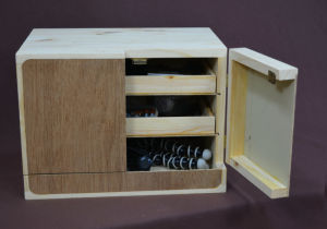 Building a Small Parts Storage Cabinet