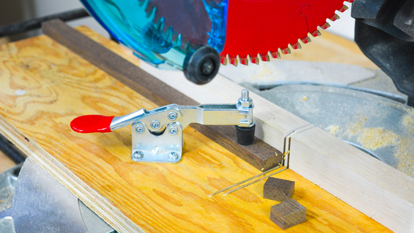Mitre Saw Small Pieces Clamp