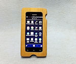 iphone or smartphone wooden case