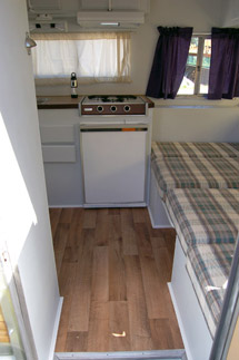 Travel Trailer Flooring