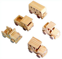 Wooden toy finish
