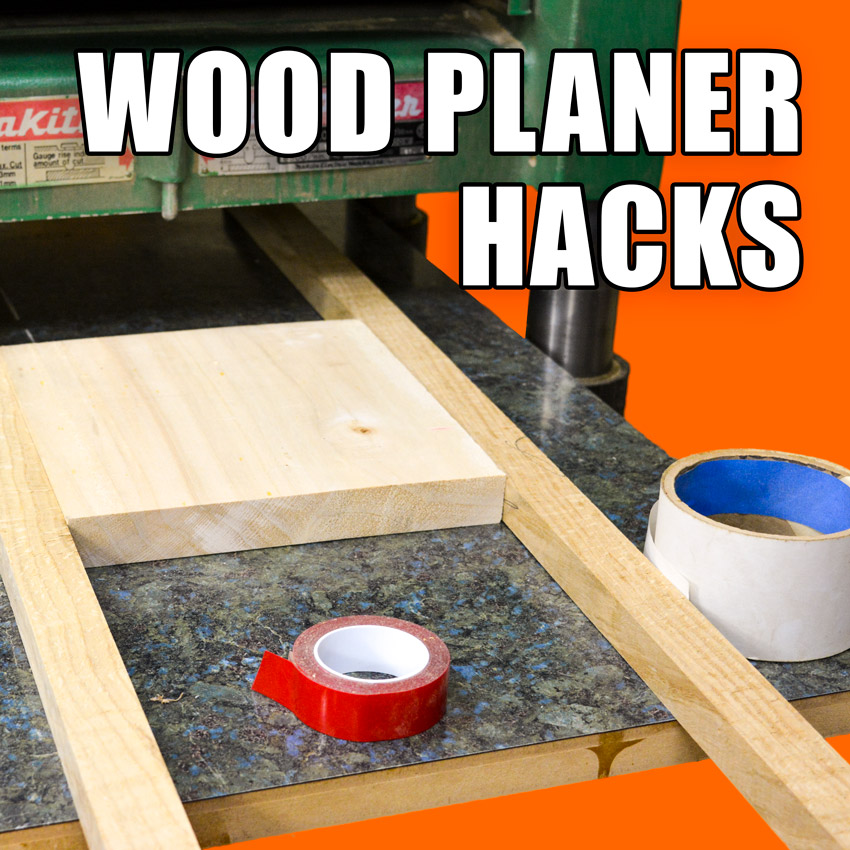 Thickness Planer Tips