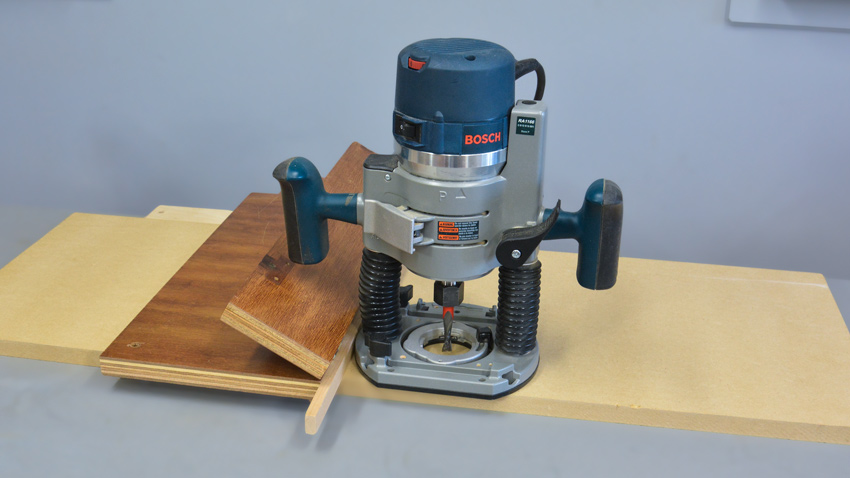 Router jig for Dado joints