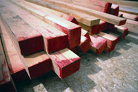 woodwork wood sizes